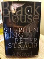 Black House by Stephen King & Peter Straub 2001 TRUE 1st Ed 1st Print HB DJ VGC!