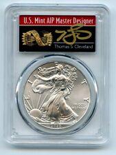 2020 (S) $1 Silver Eagle Emergency Issue Pcgs Ms70 Fdoi Thomas Cleveland Arrows