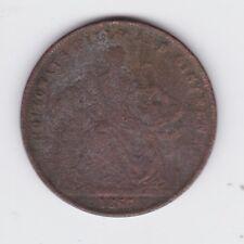 1860 Token 1 Penny Professor Holloway's Pills & Ointment London England GB P-504