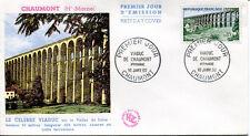 FRANCE FDC - 329 1240 2 VIADUC DE CHAUMONT 16 1 1960