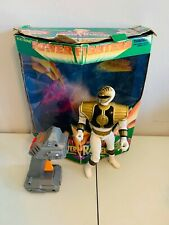 White Ranger Power Fighter Karate Kick Tiger Electronics bandai MIGHTY MORPHIN
