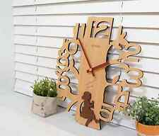 Unique & Antique Style Wooden Wall Clock [ Home/ Store/ Cafe/ Interior/ Gift]