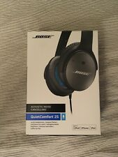 Bose QuietComfort 25 Over the Ear Headphone - Black, Wired