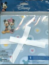 "Disney Mickey Minnie Mouse 6"" x 6"" Scrapbook Accordion 14 pages Album"
