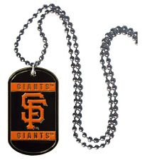 San Francisco Giants Necklace with Dog Tag