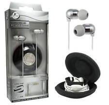 Arctic Cooling E361 Headset with Microphone (White) for PC iPhone MP3 3.5mm jack