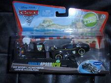 Disney Cars 2 Pit Stop Launcher Lewis Hamilton