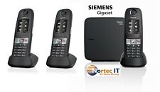Siemens Gigaset E630A Cordless ECO DECT Phone with 3 x E630H +Answering Machine