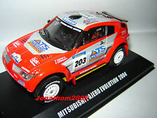 MITSUBISHI PAJERO EVOLUTION N°203 DAKAR 2004 - Peterhansel - Cottret -  au 1/43°