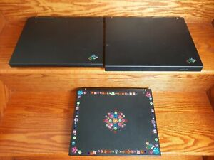 IBM THINKPAD TYPE 1859 LAPTOP 2681 & 2652 LOT OF 3 FOR PARTS OR REPAIR UNTESTED