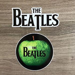 The Beatles Vinyl Sticker Set - Free Shipping