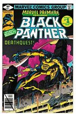 MARVEL PREMIERE #51 (VF/NM) BLACK PANTHER! T'CHALLA! Death of WINDEAGLE! 1979