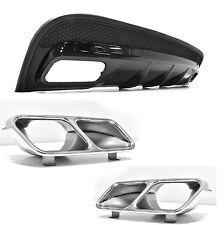 Für Mercedes-Benz GLA X156 GLA45 AMG Look Heckschürze Stoßstange Diffusor #74