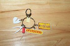 OPERATION Game CHARMS Keychain Keyring Basic Fun Mini Retired Miniature