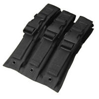 Condor Triple MP5 Magazine Pouch Black MA37-002 MOLLE PALS
