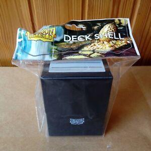 Porta Carte DRAGON SHIELD DECK SHELL BLack Nero BA002