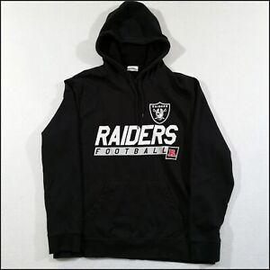 Las Vegas/Oakland Raiders NFL Team Hoodie   Medium   Black/Silver   Rare