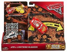 Disney Pixar Cars 3 Crazy Crashers 2-Pack - APB and Lightning McQueen