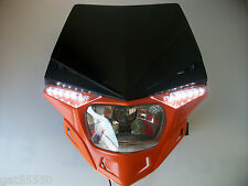 UFO KTM Naranja Faro Enduro camino legal Sx Exc Xcf SXF Lc4 EGS Duque SMR Exf