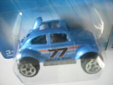 2005 HOT WHEELS VW BAJA BUG BLUE with GRAPHICS # 161 5 SPOKE