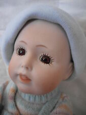 Adorable Reproduction Made In Germany Jdk Jointed Porcelain Baby Doll