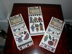 3 PACKS OF PAPERBILITIES PATTERNED AND DIMENSIONAL PAPERS FOR CRAFTING