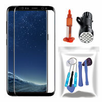 For Samsung Galaxy S8 Front Touch Screen Glass Lens Replacement Repair Tools Kit