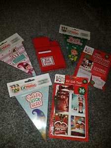 Christmas elf bundle - postbox,gift tags,bunting