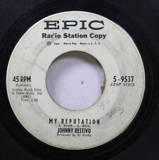Hear! Teen Promo 45 Johnny Restivo - My Reputation / You Can'T Turn Back The Clo