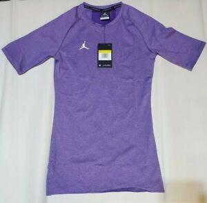 Air Jordan Dri-Fit Alpha Compression Workout Gym Shirt Mens Sz Small AO9217 545