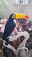 Tucan - Tukan - Figur aus Federn - 30cm - Deko Vogel - Tikki Pop