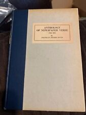 RARE - Anthology of Newspaper Verse for 1926 - Franklyn Pierre Davis - 1st Ed.