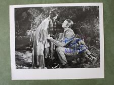 Debra Paget hand signed B&W 8x10 photo FREE SHIPPING!!!