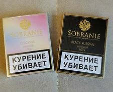 Sobranie Cocktail + Sobranie Black Russian Filter Cigarettes 2 x 20