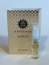 AMOUAGE Gold - Eau De Parfum Woman - 2ml/0.06 oz Vial NEW on Card