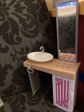 Barbie Casa De Ensueño Fregadero/Unidad de vanidad.