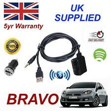 Fiat BRAVO Bluetooth Music Streaming Module & 1.0A Power Adapter For Samsung HT