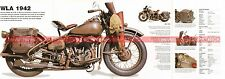 HARLEY DAVIDSON WLA 750 1942 Fiche Moto 000489