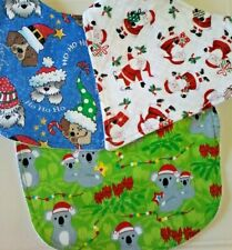 Christmas Bibs and Bandanas Toddler Child Baby Dribble