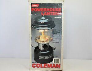 Coleman Powerhouse Model 290A700 Double-Mantle Lantern 10 92 in Box          A12