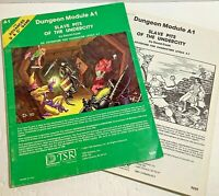 Slave Pits of the Undercity Advanced Dungeons & Dragons RPG TSR 1980 A1 9039