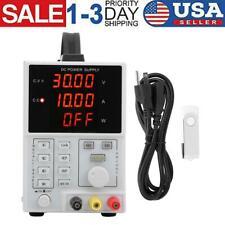 Dc Power Supply 110220v 0 30v 0 5a Programmable Led Display Digital Lw305e Usa