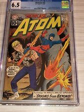 Showcase #35 cgc 6.5 2nd Silver Age Atom - Last 10-cent issue Gil Kane