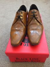 Jeffery West College Square Weave Honey Size UK8 Formal/Smart Shoes RRP £149.99