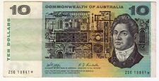 1966 Commonwealth Philips/Randall $10 Star Banknote ZSG 10861*