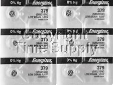 Energizer 379 Watch Batteries SR521SW SR521 0%HG ( 6 PC )