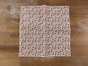 LUCIANO BARBERA floral linen pocket square authentic