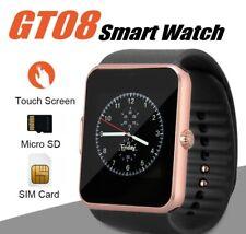 Orologio Bluetooth Smart Watch GT08 per Samsung Galaxy A12  gold
