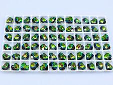 16 Pcs. SWAROVSKI® Crystal Heart Beads,ART#6202/6228 10mm Hearts, VITRAIL MEDIUM