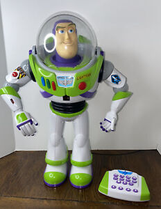 "Disney Toy Story Ultimate 16"" Buzz Lightyear Remote Control interactive toys"